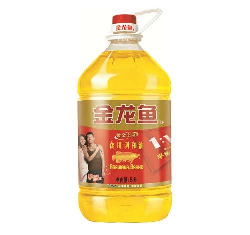金龙鱼黄金比例调和油