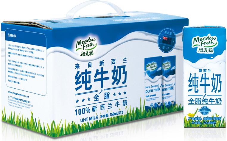 纽麦福全脂纯牛奶